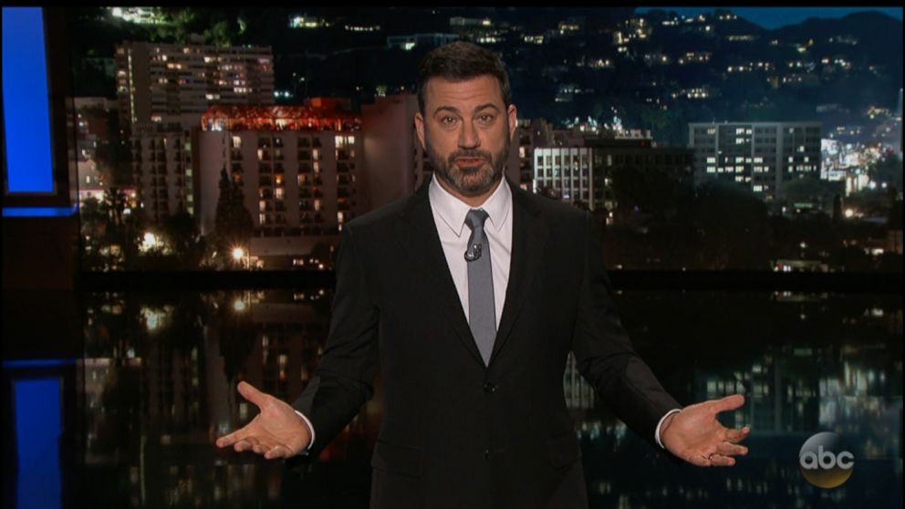 Jimmy Kimmel gets emotional in call for action on gun violence: 'Children are being murdered'