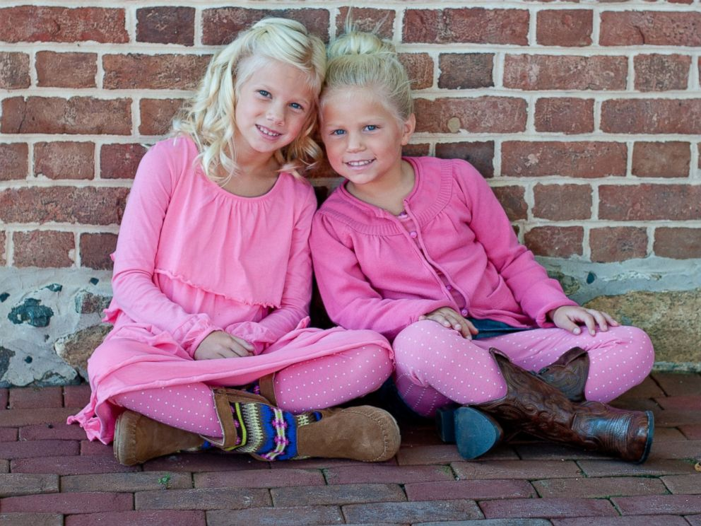 PHOTO: Lexi and Katie Boone, pictured here, were believed to be in an Annapolis, Maryland, mansion with their grandparents, Don and Sandra Pyle, when it burned to the ground on Monday, Jan. 19, 2015.