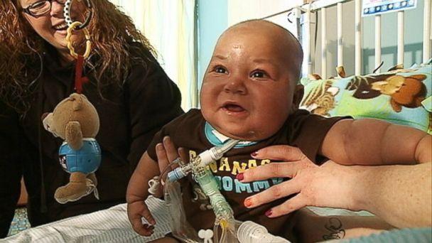 HT Medicaid fight mar 140331 16x9 608 Nebraska Mom Fights Medicaid for Sick Babys Transplant