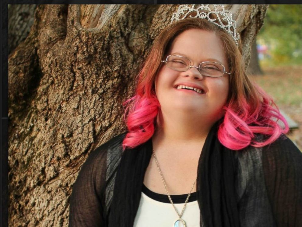 Down syndrome teen