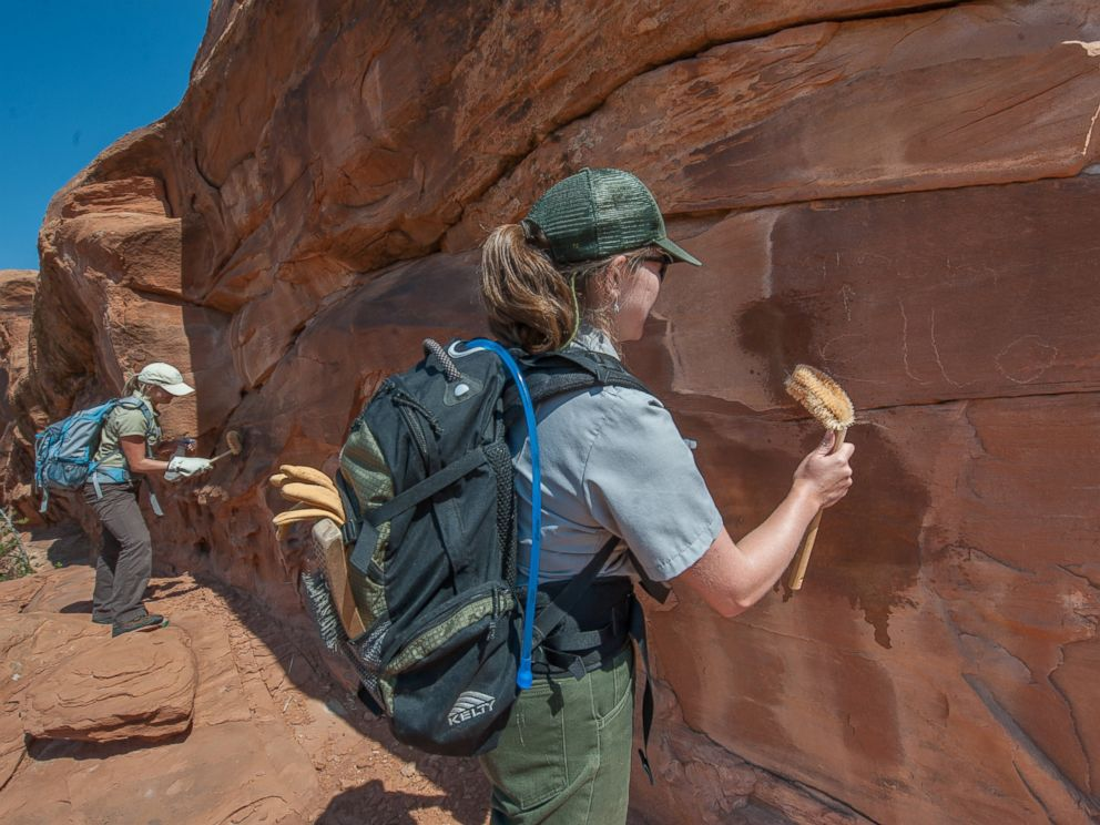 Graffiti Etched Into Famed Rock Formation At Arches