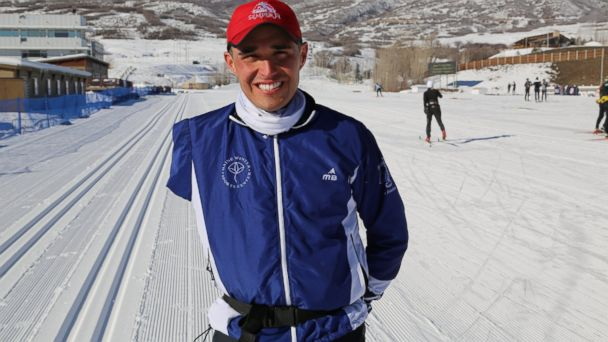 HT Omar Bermejo ml 140129 16x9 608 Sochi Bound Marine Vet Strives for Gold in Paralympics