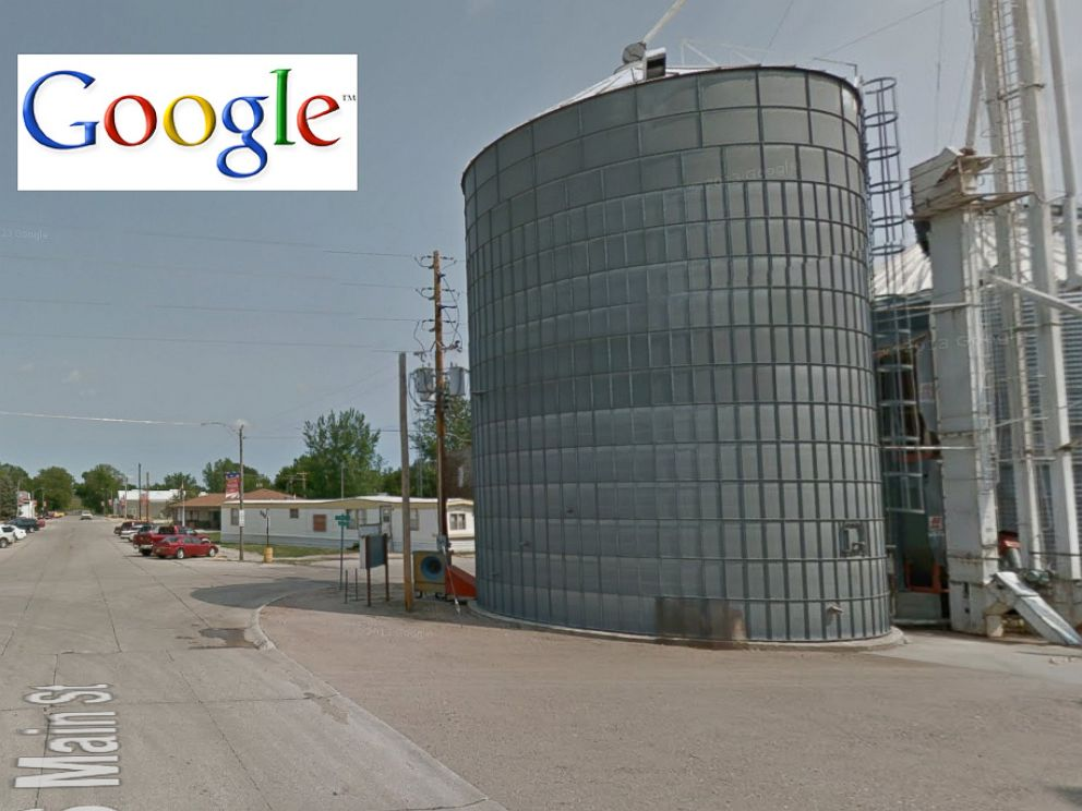 PHOTO: South Main Street in Pilger, Neb. is seen in this undated Google map before the tornado in Nebraska struck, June 16, 2014.