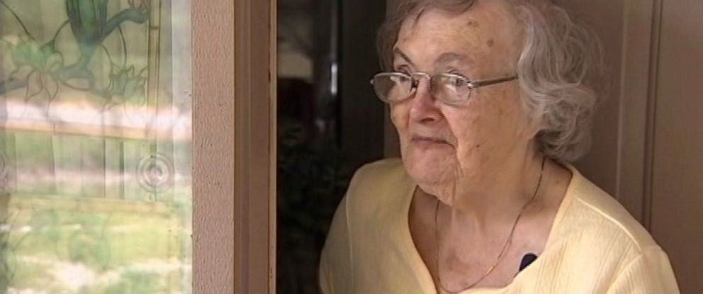 PHOTO: A family had a pizza delivered to their Grandmother in Florida to make sure she was alright after Hurricane Matthew.