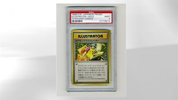 HT Pokemon Pikachu Illustrator 1 jt 130909 16x9 608 Rare Pokemon Card Yours for at Least $50K