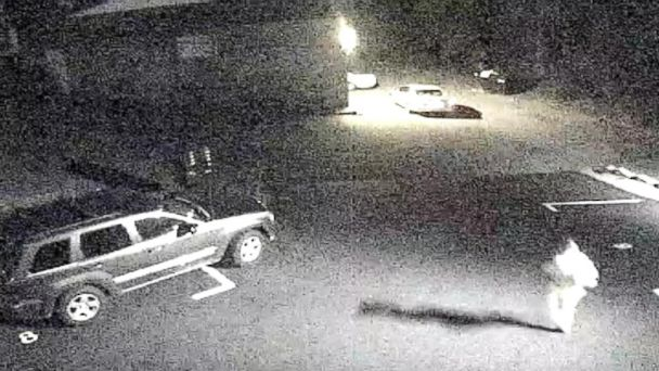 On this surveillance cameras grainy video, Skylar Neese is seen sneaking out of her room and slipping into a car, which drives away.