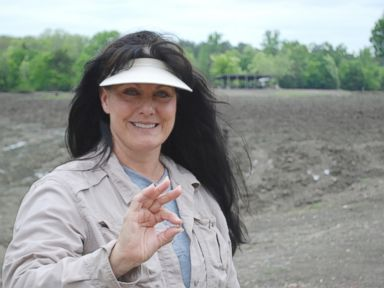 PHOTO: Susie Clark said a prayer when she visited Crater of Diamonds State Park in Arkansas and those prayers were answered when she found a 3.69-carat diamond.