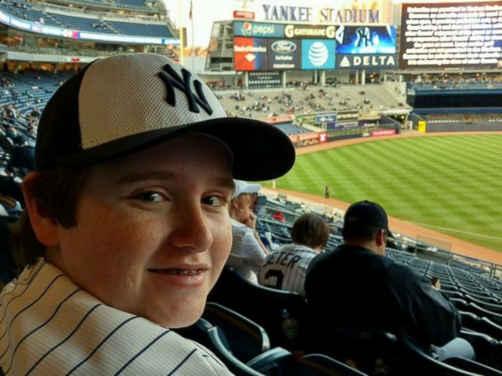 PHOTO: Entrepreneur Taylor Rosenthal attended a Redsox-Yankees game at Yankee Stadium Sunday, three days before his appearance at TechCrunch Dispute in New York.