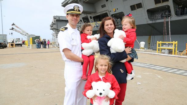HT Theriot family renuited one mar 140421 16x9 608 Heros Homecoming: Navy Officer Reunited With His Family