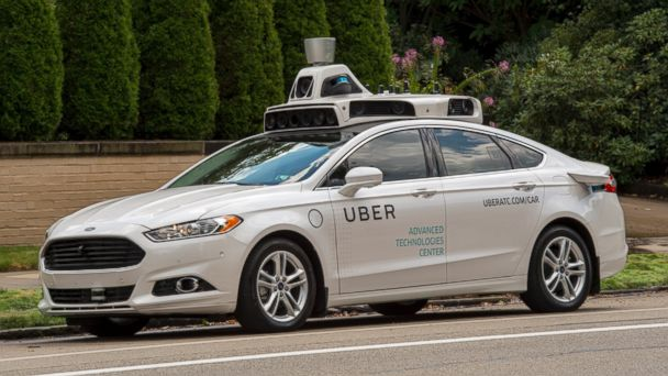 PHOTO: Uber is rolling out a fleet of