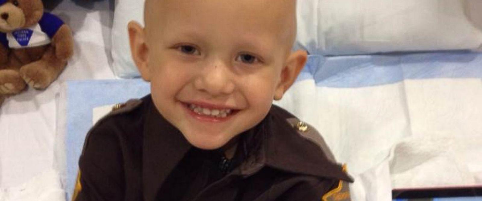 PHOTO: Wyatt Schmaltz, 3, is being treated for aggressive stage 4 cancer.