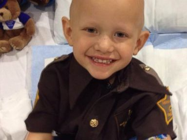 Boy With Brain Cancer Becomes Sheriff Deputy
