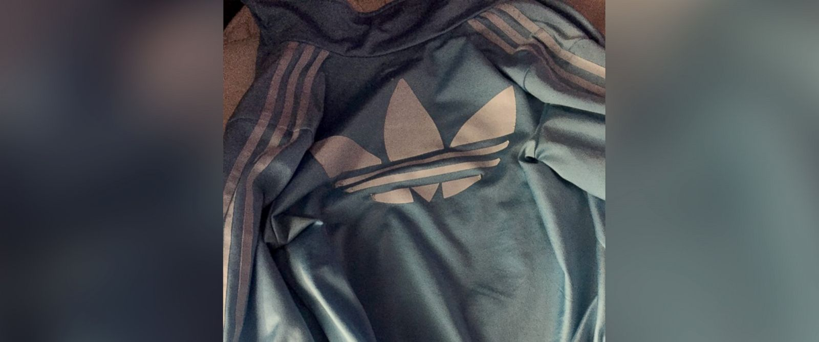 "PHOTO: The color of an Adidas jacket sparked a social media debate exactly one year after the internet argued over the color of ""the dress."""