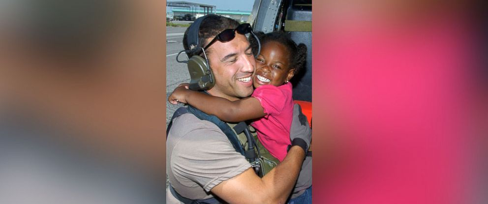 PHOTO: Master Sgt. Michael Maroney started the social media campaign hashtag #FindKatrinaGirl