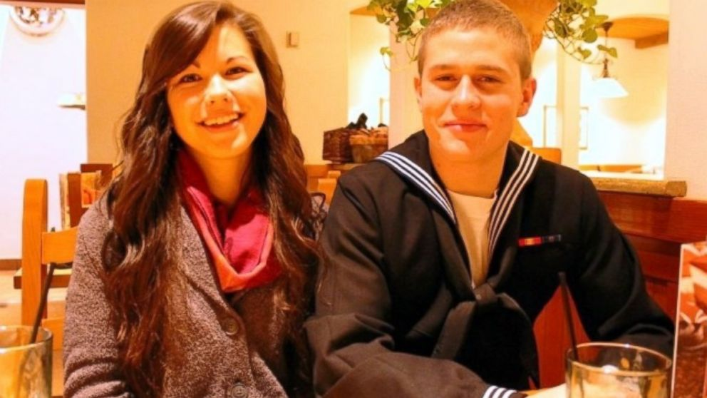 PHOTO: Dylan Ruffer,19 and Madison Meinhardt, 19 plan to get married at the Reno-Tahoe International Airport.