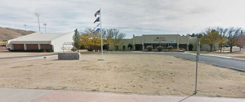 PHOTO: Alpine High School in Alpine, Texas is pictured.
