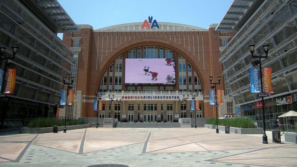 PHOTO: The American Airlines Center in Dallas, May 30, 2008.
