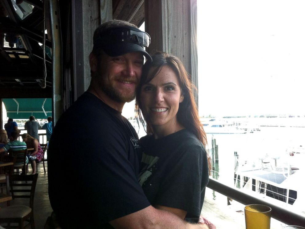 PHOTO: Taya and Chris Kyle were married on March 16, 2002.