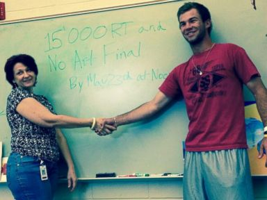 Students Can Skip the Final ... If They Get 15,000 Retweets