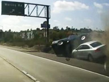 Dash Cam Captures Women Drivers in Road Rage Wreck