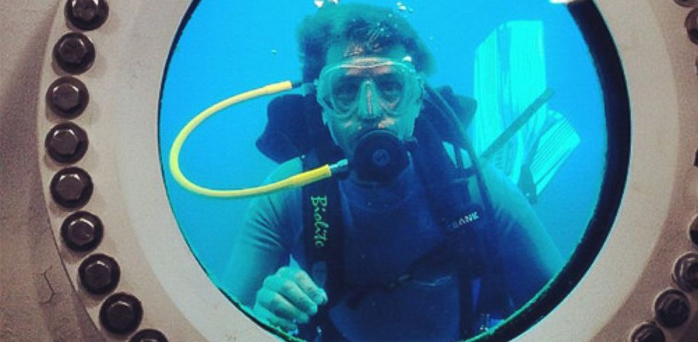 "PHOTO: Cousteau will lead a team of ""aquanauts"" as they live underwater for a month."