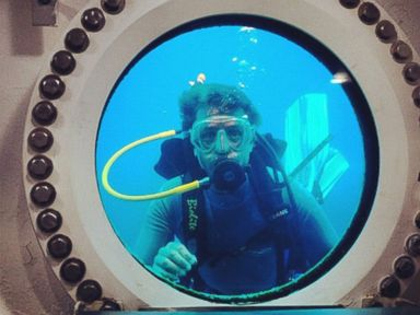 See Amazing Pictures as Jacques Cousteau's Grandson Starts 31 Days Underwater