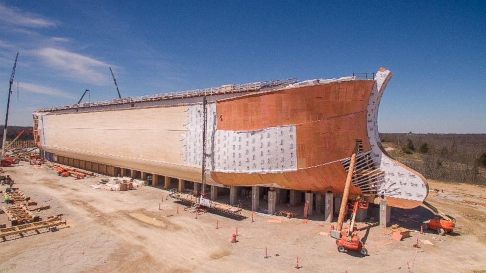 Massive Full-Scale Version of Noah's Ark Comes to Life in ...
