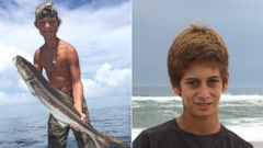PHOTO: Pictured are Austin Stephanos, 14, and Perry Cohen, 14, who went missing on a fishing trip in Florida.
