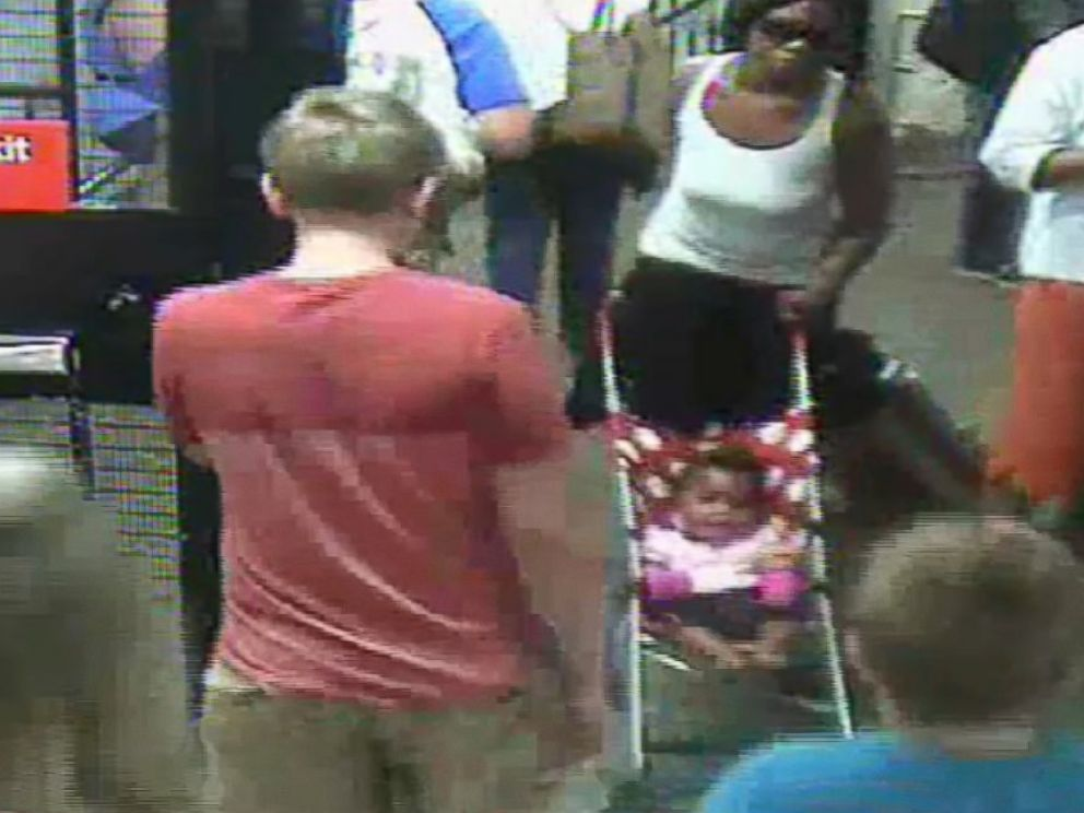 PHOTO: NYPD released video of this unnamed woman and her baby entering the subway station.