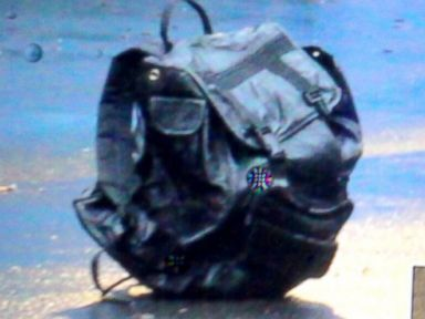 PHOTO: Suspicious Bags found near Boston Marathon finish line.