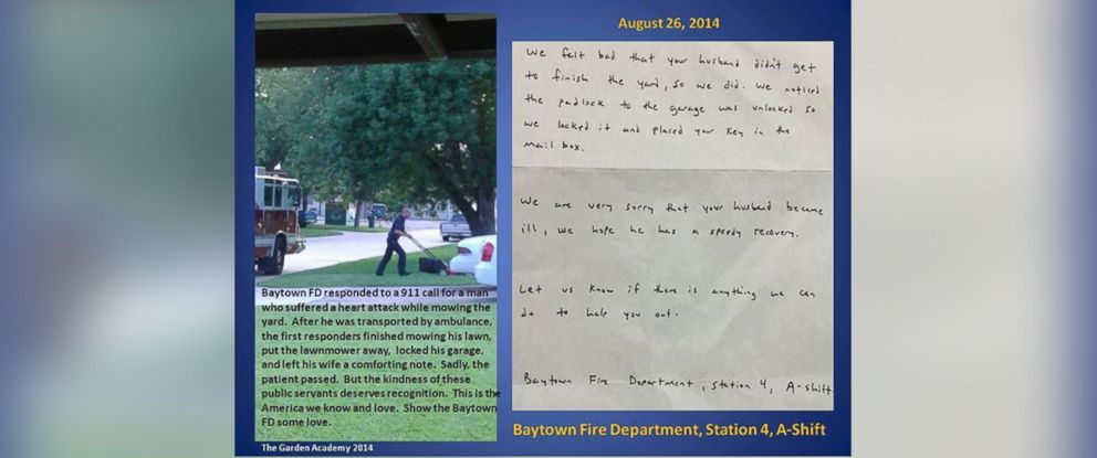 PHOTO: The City of Baytown Government posted this photo to their Facebook page, Aug. 26, 2014.