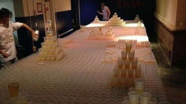 HT beer pong nt 131213 16x9 608 Most Epic Game of Beer Pong Ever Lands Frat in Trouble