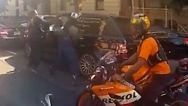Bikers In Nyc 9u002f11 Man Attacked by Bikers in New
