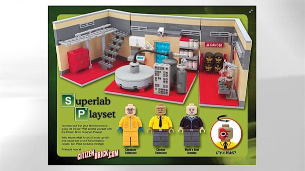HT breaking bad toy set jt 130909 v16x9 16x9 608 Breaking Bad Inspired Meth Lab Play Set Lets Fans Channel Walter White