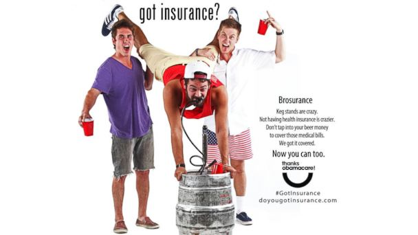HT brosurance psa jtm 131025 16x9 608 Young Uninsured Men Targets of Brosurance Ads