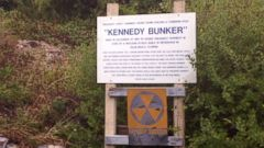 PHOTO: ABC News David Muir visits Camelots secret nuclear bunker as President Kennedy is remembered.