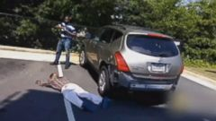 PHOTO: An Atlanta man turns the tables on an attempted carjacker. No one was injured.