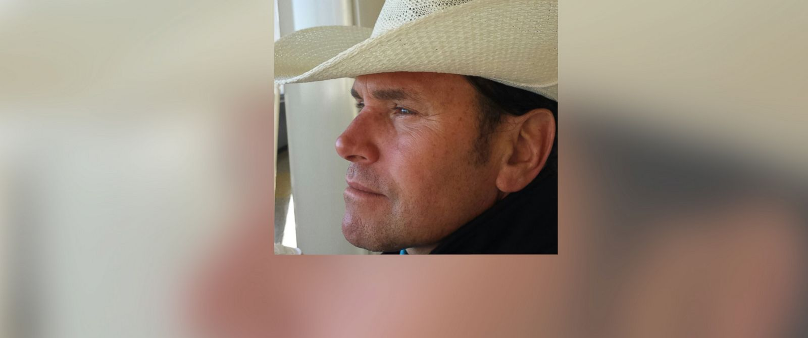 PHOTO: Carlos Arredondo is known as the cowboy hat-wearing hero from last years Boston Marathon bombing.