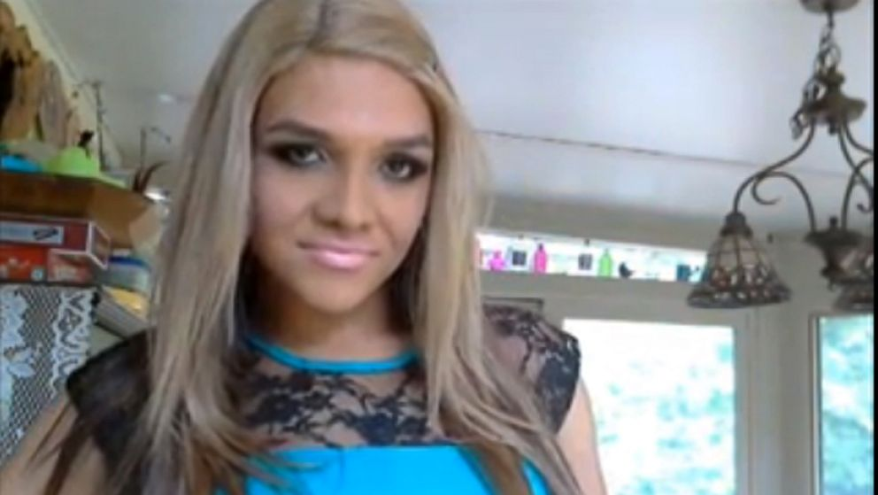 "PHOTO: Cassidy Lynn Campbell appears in the youtube video  ""Boy to Girl Full Body Transformation."""