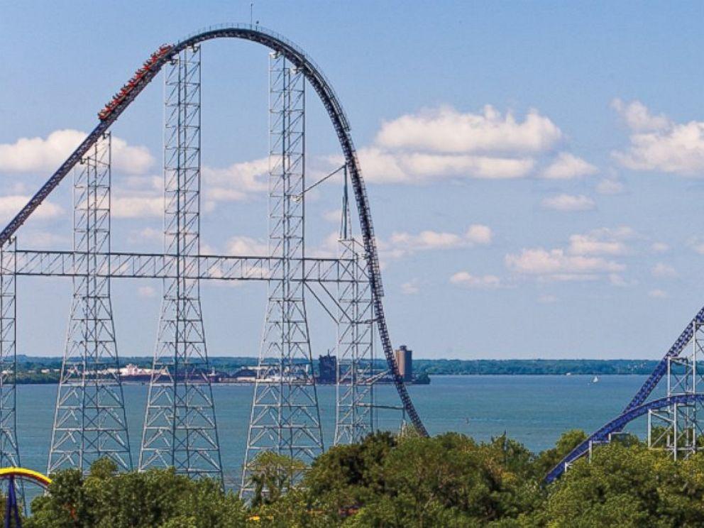 PHOTO: The Millenium Force at Cedar Point amusement park in Sandusky, Ohio.