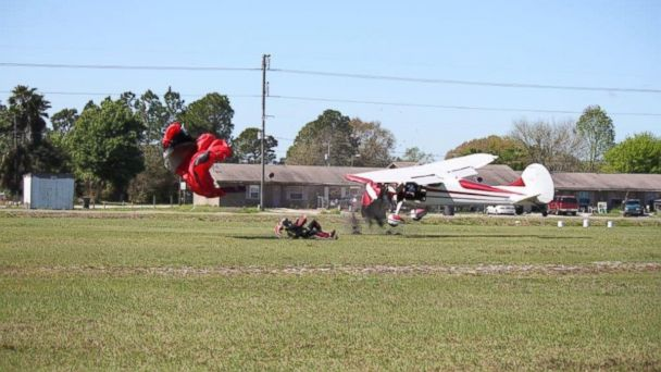HT cessna collision 6251 6 jt 140309 16x9 608 Skydiver Collides With Plane, Sending Him Slamming into Ground