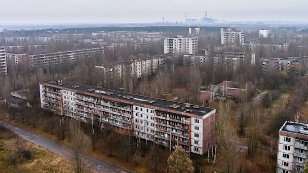HT chernobyl trees building nt 130827 16x9 608 Instant Index: Satellite Images Show Trees Where Chernobyl Disaster Happened