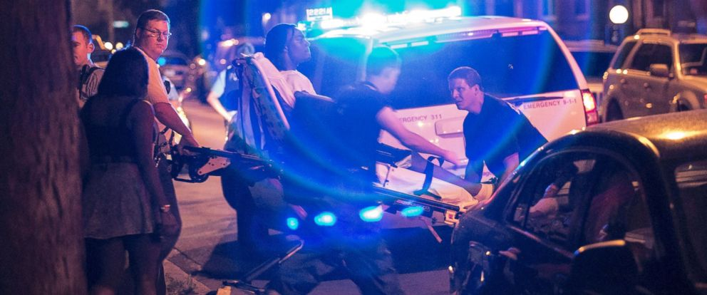 PHOTO: A man was shot in the leg near 87th and Morgan in Chicago, July 6, 2014.