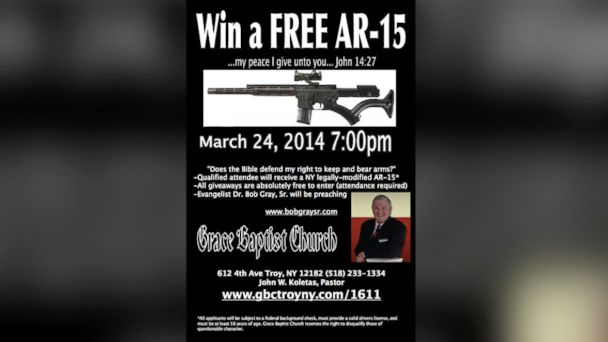 HT church ar15 jtm 140324 16x9 608 Community Minded Church Vows to Give Away Another Rifle