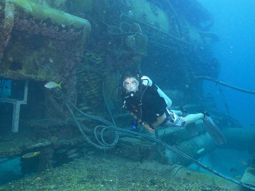 PHOTO: Cousteau will lead a team of aquanauts as they live underwater for a month.