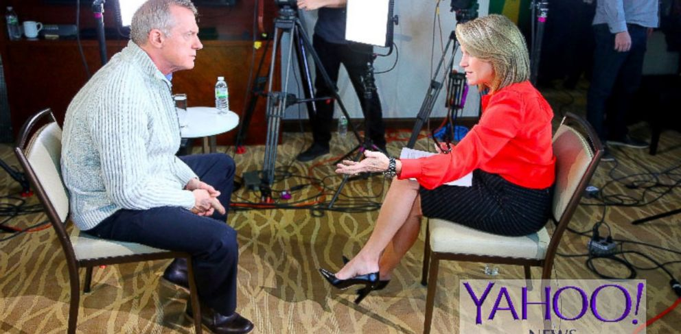 """PHOTO: Actor Stephen Collins sat down for an exclusive interview with Yahoo Global Anchor Katie Couric, which will air on ABC News' """"20/20"""" on Friday, Dec. 19 at 10 p.m. ET."""