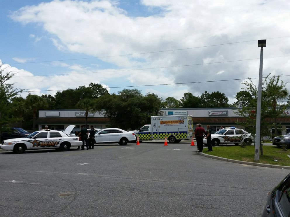 PHOTO: Police released a photo of the crime scene where an attempted abduction occurred June, 7th, 2016 inside a general dollar store in Hernando, Florida.