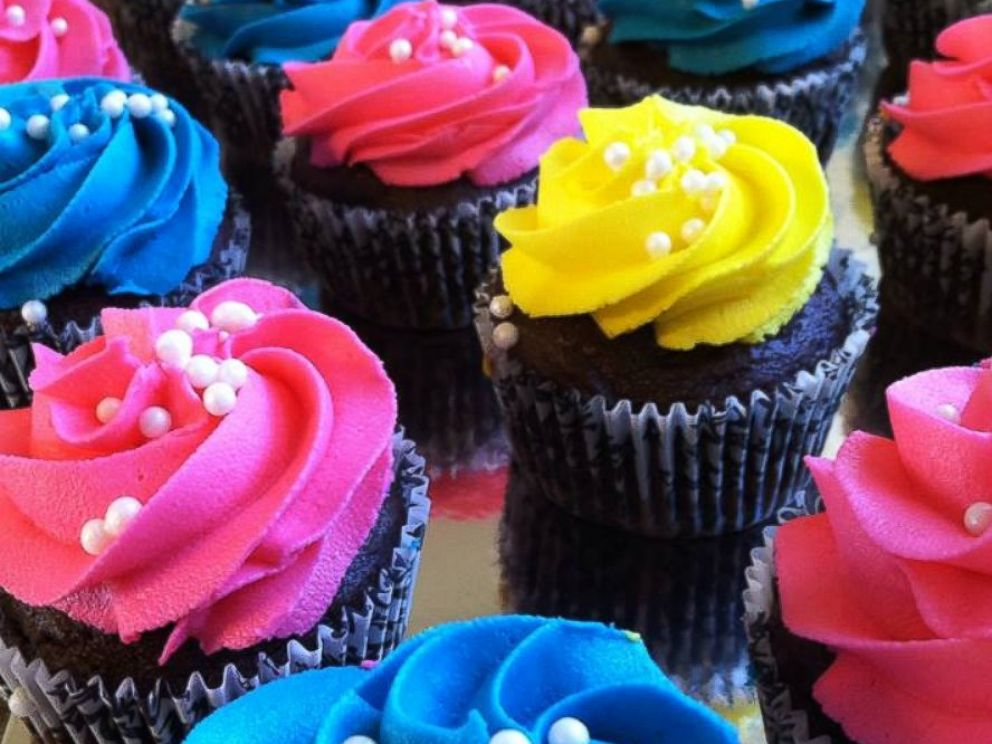 PHOTO: Some of Chloe Stirlings cupcakes.