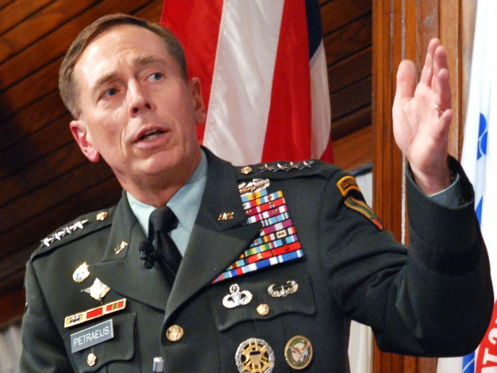 PHOTO: U.S. Army Gen. David H. Petraeus, then commander of U.S. Central Command, speaking at a leadership and counterinsurgency symposium in Washington, Sept. 23, 2009.
