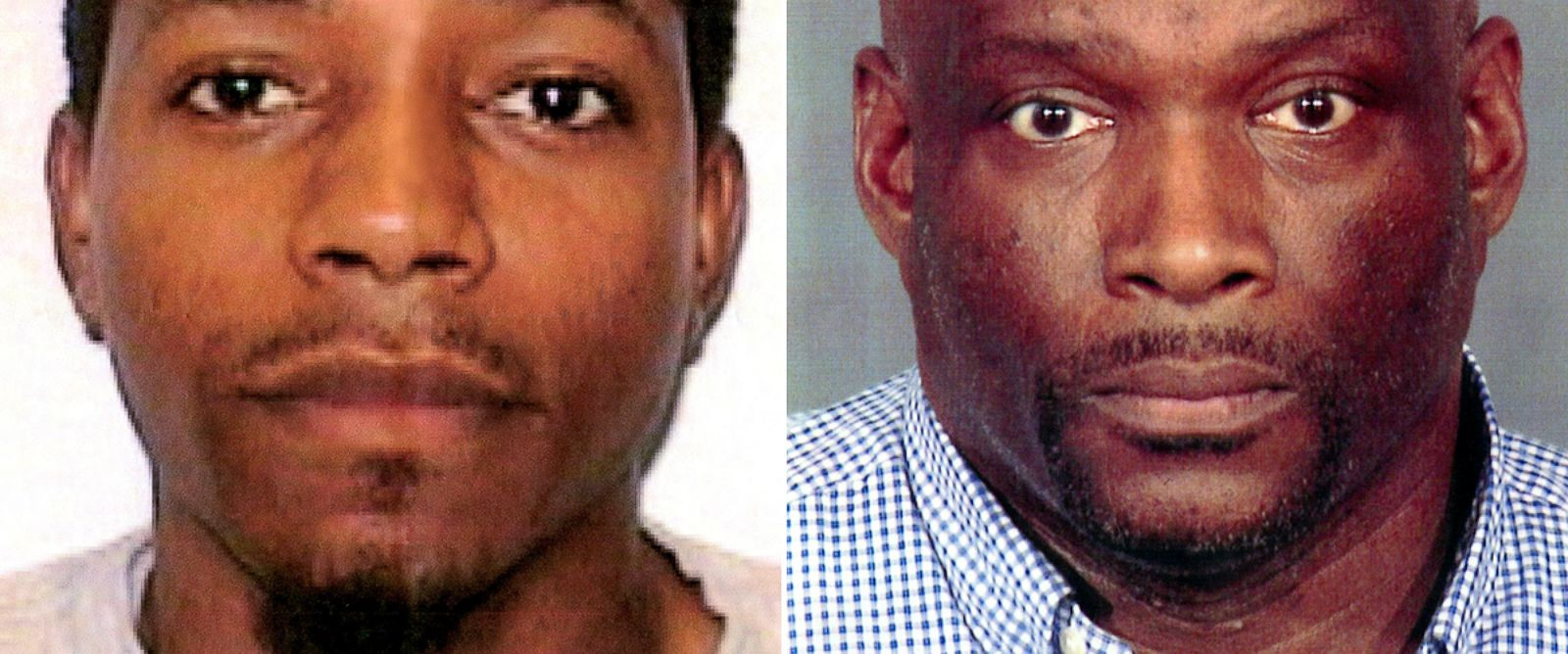 PHOTO: Eugene Harvey, left, and Mark Henry, right, were charged in an alleged gun-smuggling ring that sent weapons from Georgia to New York City on commercial airliners, federal officials said Dec. 23, 2014.